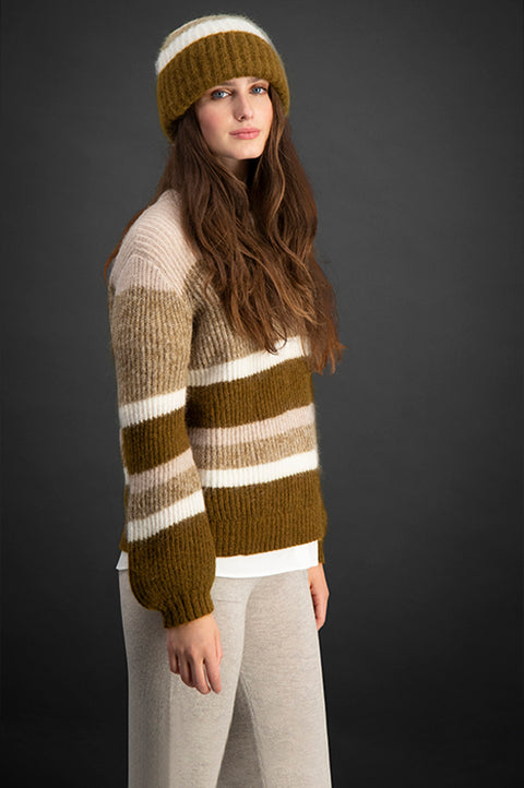 Madrid - Moss Stripe (4375254925421)