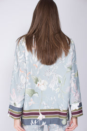Valeria shirt - Blue Jungle