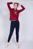 Shield Sweat Hoodie - Mahogny Red - GANT - Gensere - VILLOID.no