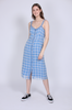 Terna Midi Strap Dress - Little Boy Blue - Second Female - Kjoler - VILLOID.no