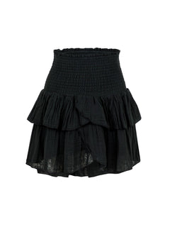 Carin Gauze Skirt - Black