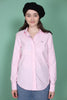 Stretch Oxford Solid - Light Pink - GANT - Topper - VILLOID.no
