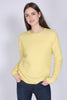 Brook Knit New o-neck - Sunshine - Second Female - Gensere - VILLOID.no