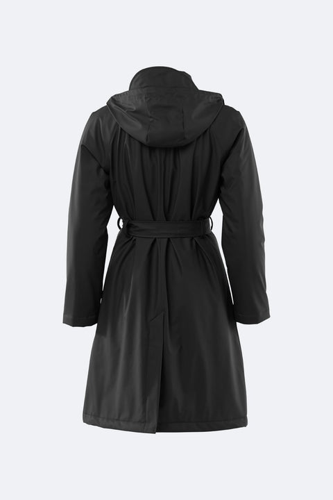 W Trench Coat - Black (4374925574253)