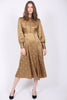 Jaquard Shirt Dress - Olive - ByTimo - Kjoler - VILLOID.no