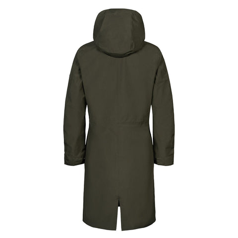 Woman Flow Coat - Olive (1744096460835)