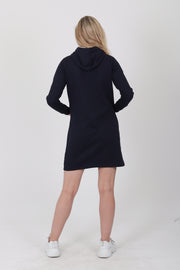 Gant Hoodie Dress - Evening Blue (1476696604707)