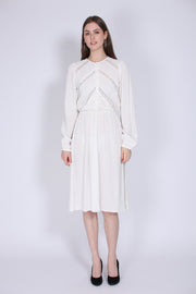 Queen Day Dress - Off White (1555018350627)