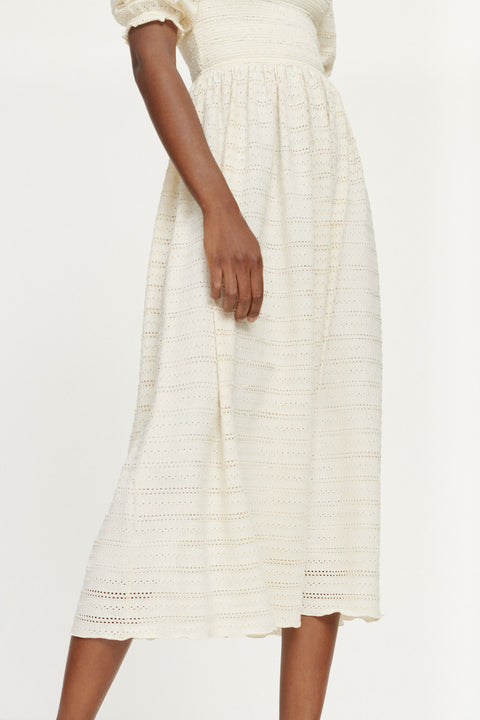 Pia Dress - Warm White