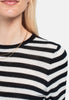 Wool Long Sleeve - Stripe - Pierre Robert x Jenny Skavlan - Gensere - VILLOID.no