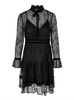 Chloe Dress - Black (4325674156141)