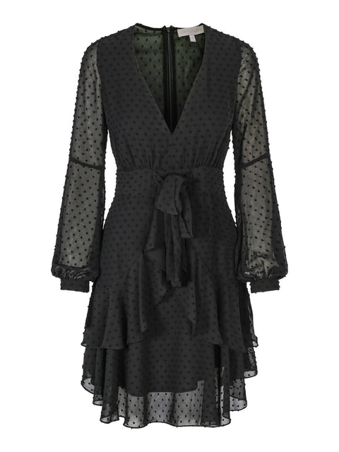 Ivy Dress - Black (4294368329837)