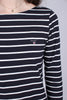 Breton Stripe Boatneck Dress - Evening Blue - GANT - Kjoler - VILLOID.no