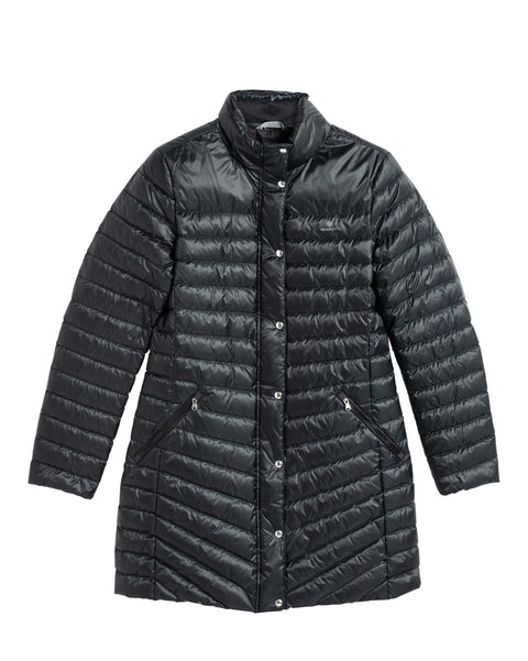Light Down Coat - Black