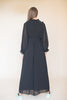 Colette long solid maxidress - Black - Line of Oslo - Kjoler - VILLOID.no