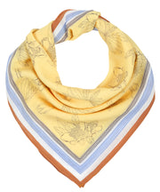 Neck Scarf - Straw Yellow