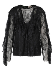 Crystal Blouse - Black (4325685559405)