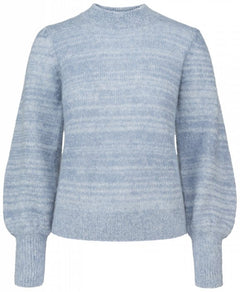 Fancy Mohair Knit - Blue Horizon