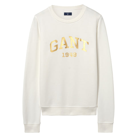 Gift Giving Logo Sweat - Eggshell