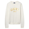 Gift Giving Logo Sweat - Eggshell - GANT - Gensere - VILLOID.no