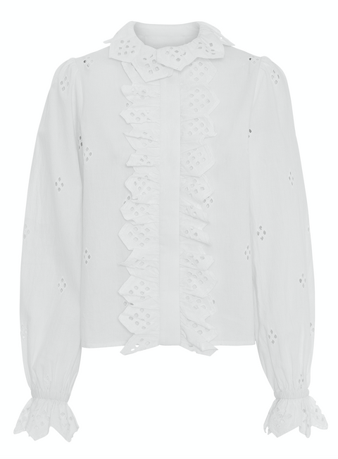 2ND Edition Poppy Top - Bright White