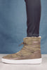Moon Boot Puls Low Shearlin - Military Green - Moon Boot - Sko - VILLOID.no