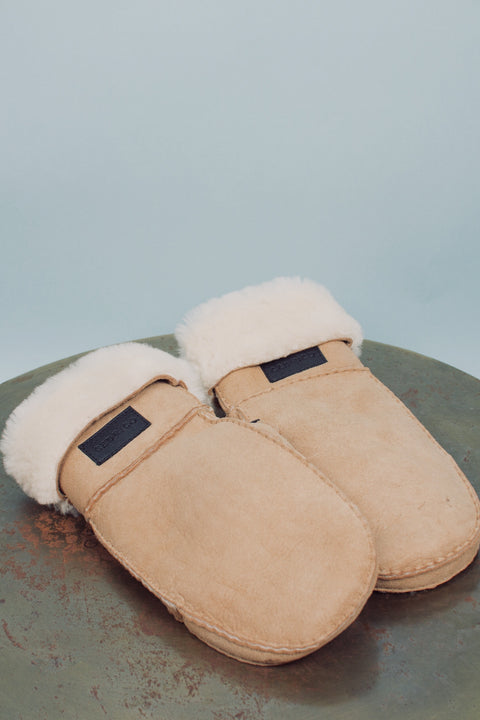 Miss Shearling Suede - Camel