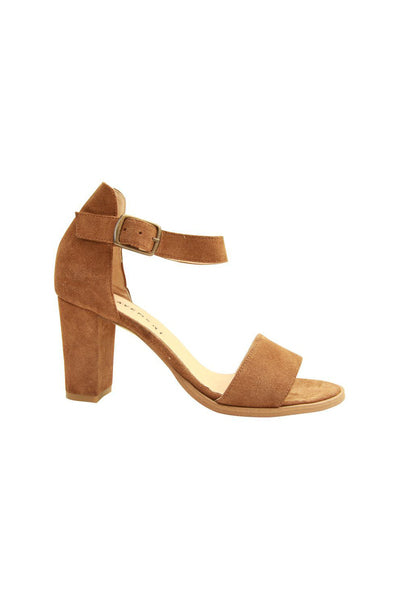 Silke - Taupe Suede