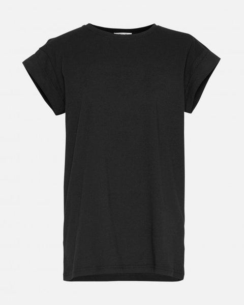 Alva Plain Tee - Black