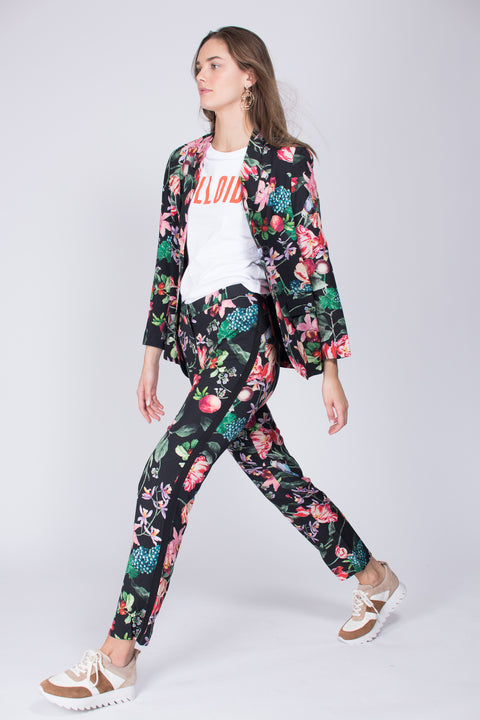 Leah pants - Black Blossom
