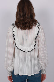 Stripes Blouse - White
