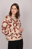 Leopard Knit - Ginger Spice - Creative Collective - Gensere - VILLOID.no