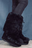 Moon Boot Classic Premium Soft Fur Suede - Black - Moon Boot - Sko - VILLOID.no