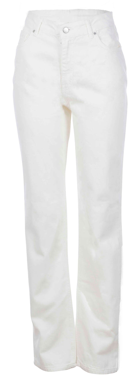 Straight Leg Denim - Off White