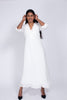 Zelena long lacedress - White - Line of Oslo - Kjoler - VILLOID.no