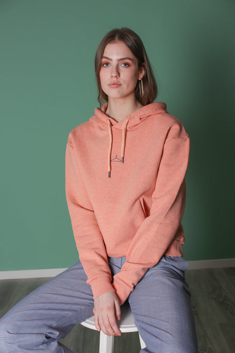 Hang On Sweat - Peach Melange (1516339560483)