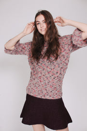 Michelle Multi Sweater - Pink