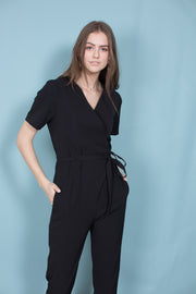 Gilda Jumpsuit - Black (1497119457315)