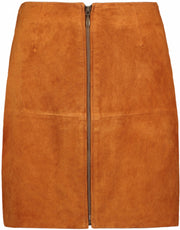 Leather Skirt Short - Hawaiian Sunset (1911530586147)
