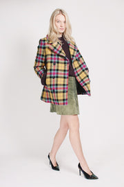 Short check Jacket - Multicolor (1865540698147)