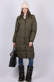 Long Down Coat - Sea Turtle (4174121926691)