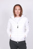 Estelle Hooded W - Brilliant White - Cedrico - Jakker - VILLOID.no