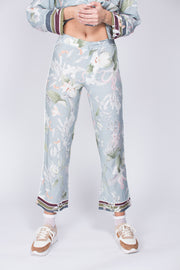 Edina pants - Blue Jungle