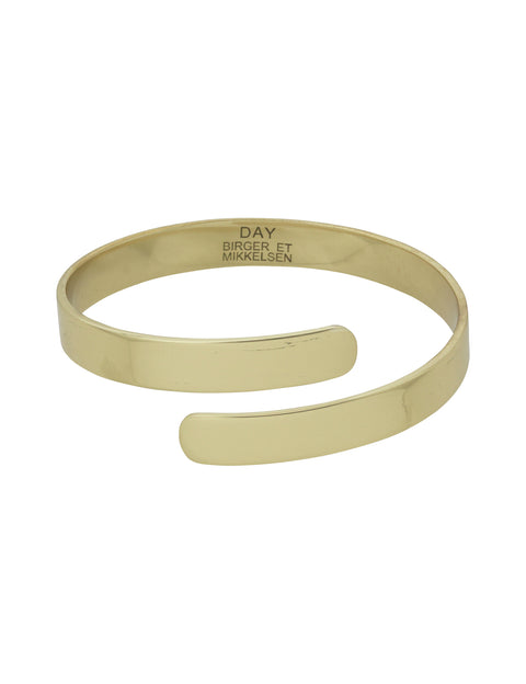 Day Nerine Twist Bracelet - Rich Gold (1666340519971)