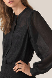 Cassiopeia LS Shirt - Black (4347450097773)