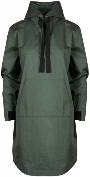 Narwhal Hooded Dress - Teal (1476697751587)