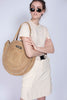 Day Straw Round Bag - Natural - DAY ET - Tilbehør - VILLOID.no