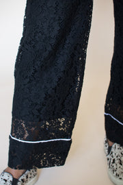 Ines Lacepants - Black