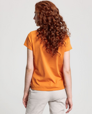 Gant Lock Up SS T-shirt - Amberglow
