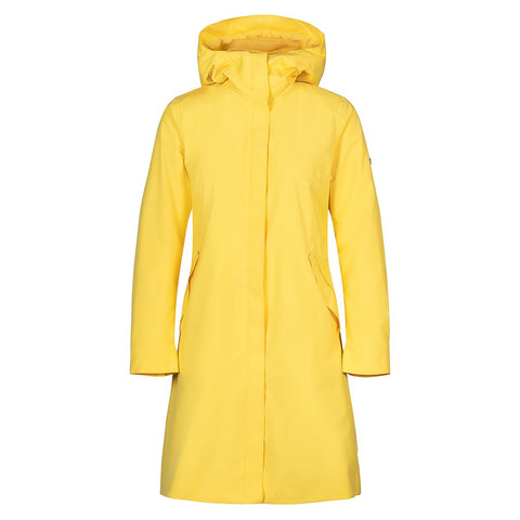Woman Flow Coat - Yellow